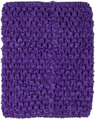 Funky Baby Party Sleeveless Solid Baby Girl,s Purple Top