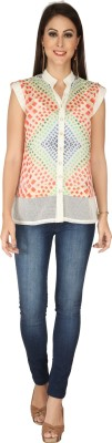 SOIE Casual Full Sleeve Solid Women's Multicolor Top