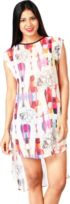 RovingMode Casual Sleeveless Floral Print Women's Multicolor Top