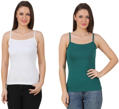 99DailyDeals Casual, Sports, Party, Festive, Beach Wear Sleeveless Solid Women's Multicolor Top