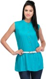 Royal Casual Sleeveless Solid Women's Gr...