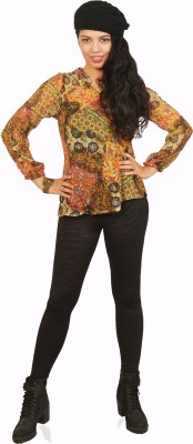 Isadora Casual Full Sleeve Printed Women's Multicolor Top