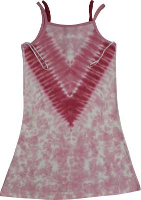 Mankoose Formal Sleeveless Printed Girl's Pink Top