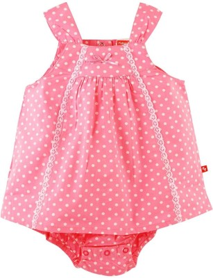 Fisher-Price Casual Sleeveless Printed Girl's Pink Top