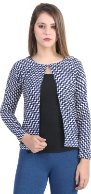 Rakshita,s Collection Casual Full Sleeve Printed Women,s Blue Top