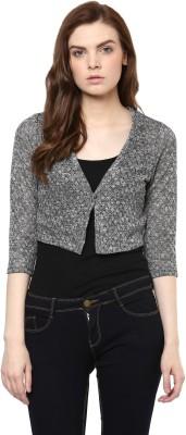 Avirate Casual Full Sleeve Self Design Women's Multicolor Top