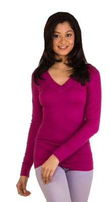 Modo Vivendi Casual Full Sleeve Solid Women's Pink Top