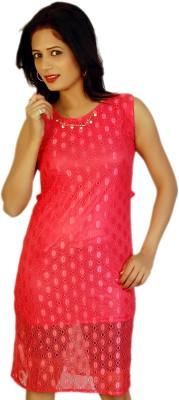 Feminine Casual Sleeveless Printed Women's Pink Top