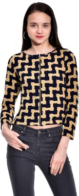 I Know Casual Full Sleeve Printed Women,s Yellow Top