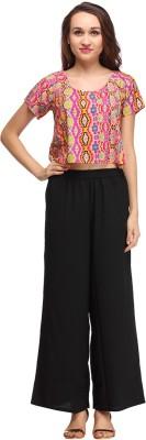 Pehraan Casual Short Sleeve Printed Women's Multicolor Top