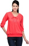 Royal Casual 3/4th Sleeve Solid Women's ...