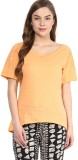 Rose Vanessa Casual Short Sleeve Solid W...