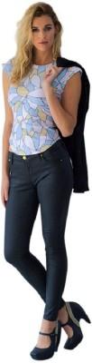 Shehzarin Casual Sleeveless Geometric Print Women's Multicolor Top