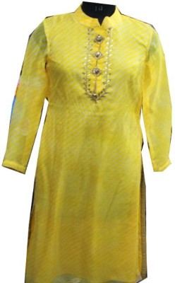 SAP Casual Full Sleeve Solid Women's Yellow Top