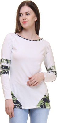Lady Stark Casual Full Sleeve Printed Women's Multicolor Top