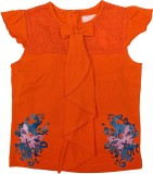 Jus Cubs Top For Baby Girl's Casual Cott...