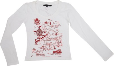 Cappadocia Casual Full Sleeve Embroidered Women's White Top