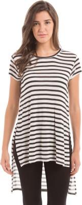 Prym Casual Short Sleeve Striped Women's Multicolor Top