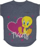 Tweety Top For Casual Polyester Top