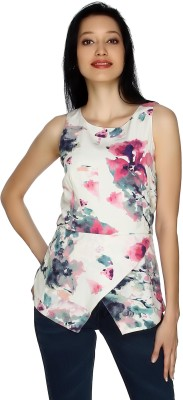 20Dresses Casual Sleeveless Floral Print Women's Multicolor Top