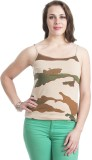 Finesse Casual Sleeveless Printed Women'...
