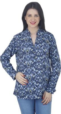 Hapuka Casual Full Sleeve Printed Women's Multicolor Top