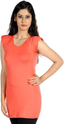 Hugo Chavez Casual Sleeveless Solid Women's Pink Top