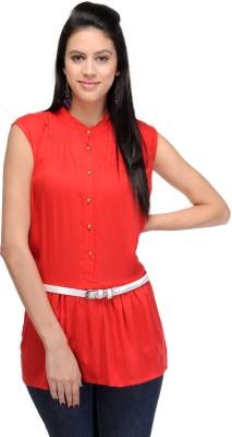 Eira Women's Shirt Red Dress