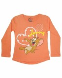 Tom & Jerry Top For Girls Casual Cotton ...