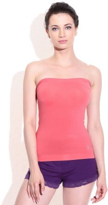 99DailyDeals Casual Sleeveless Solid Women's Pink Top