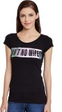 PUNK Casual Short Sleeve Printed Women's...