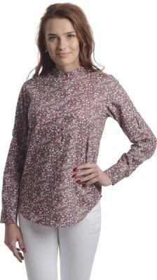 Stoee Casual Full Sleeve Printed Women's Multicolor Top