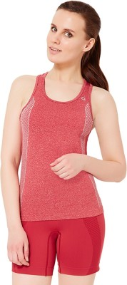 Amante Sports Sleeveless Solid Women's Red Top