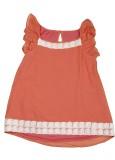 Karyn Top For Girls Casual Top (Orange)