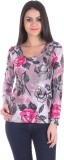 SS Casual Full Sleeve Floral Print Women...