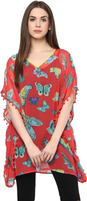 color cocktail Casual Short Sleeve Printed Women's Pink Top