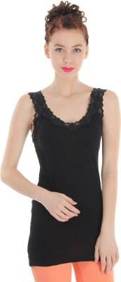 Pepe Jeans Casual Sleeveless Solid Women's Black Top