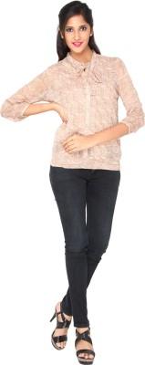 AATMIK Casual Full Sleeve Printed Women's Multicolor Top
