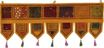 Lal Haveli Modern Attractive Cotton Decorative Door Valance Hanging Toran(Cotton)
