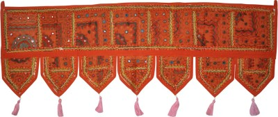 Lal Haveli Ethnic Beautiful Handmade Embroidery With Mirror Work Tapestry Toran