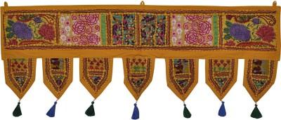 Lal Haveli Handmade Embroidered Patch Work Cotton Door Hanging Toran(Cotton)