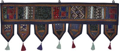 Lal Haveli Vintage Handmade Cotton Bandhanwar Home Décor Door Hanging Toran(Cotton)