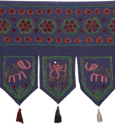 Rajrang Elephant Toran/Door Hanging Toran(Cotton)