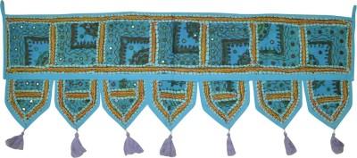 Lal Haveli Ethnic Handmade Mirror Embroidered Door Decoration Door Hanging Toran