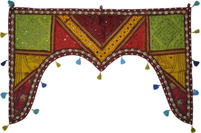 Lal Haveli Ethnic Rajasthani Patchwork Handmade Door Hanging Toran