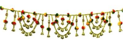 Anant Auspicious Bells Bandanwaar Door Hanging Toran