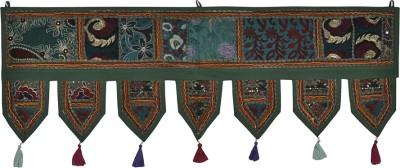 Lal Haveli Handmade Beautiful Khambadiya Cotton Hanging Home Décor Toran(Cotton)