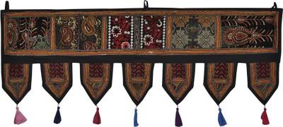 Lal Haveli Traditional Handmade Bandhanwar Door Valance Door Decoration Toran(Cotton)