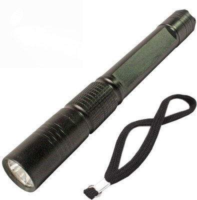BM Professional Police Cree LED Flashlight Camping Hike 5W Torch(Black)
