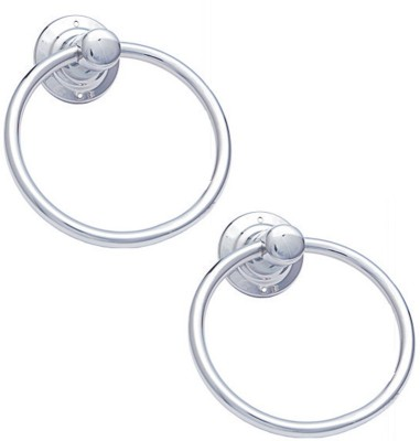 AYANT Circular Silver Towel Holder